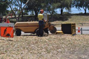 stump grinding large grinder 03