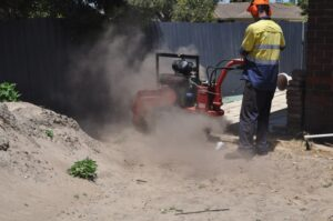stump grinding small grinder 05